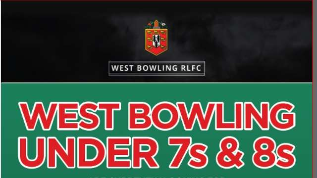 West Bowling Under 7's and 8's