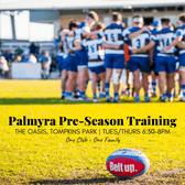 Palmyra Rugby 2019 Pre-Season