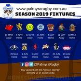 Senior Club Fixtures 2019