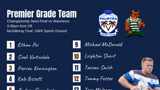 Premier Grade Team Named