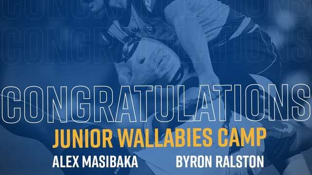 PALMYRA PRODUCTS NAMED IN JUNIOR WALLABY SQUAD