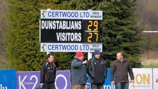 Dunstablians 1st XV v Lutterworth 1st XV 2nd February 2013