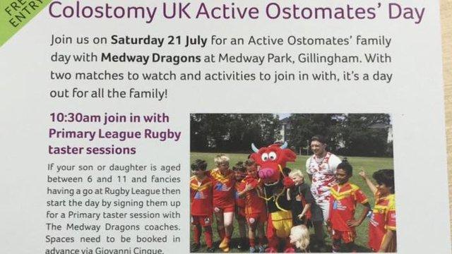 Colostomy UK Active Ostomates Day