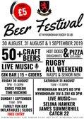 Beer Festival Volunteers.