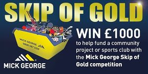 """PTCC in the running for the Mick George """"Skip of Gold"""" Competition"""