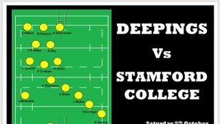 Squad Announced vs. Stamford College Old Boys
