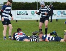 Battling league victory over Banbury Colts