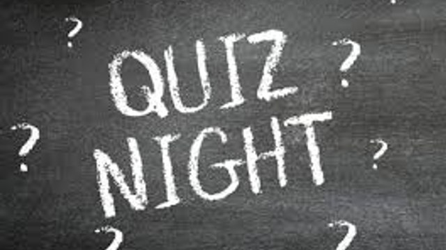 Quiz Night Friday 7th February 2020