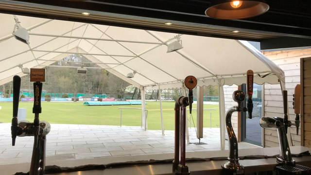 Junior Training Starts This Week & the Outside Bar is Ready To Go!
