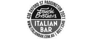 Men: Franchi Brothers Italian Bar is Easts' newest partner