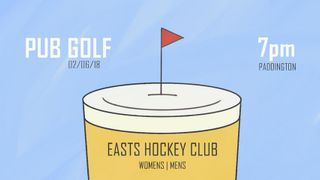 Easts Pub Golf - The Fifth Major