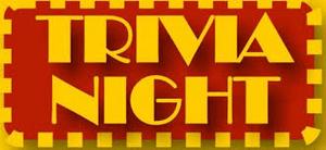 TRIVIA NIGHT Fri June 16th