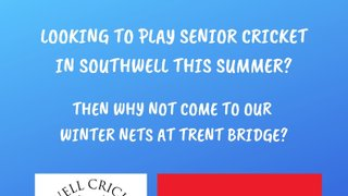 Senior Winter Nets at Trent Bridge