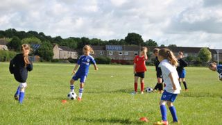 Girls Football Training - 2nd July 2016