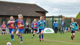 Peterborough Wildcats Girls FC Launch Day - 10th April
