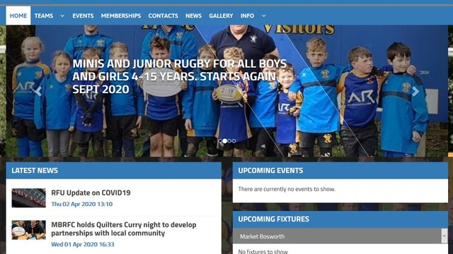 MBRFC has a new Club Website