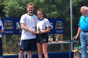 Millie Armond U14 Player of the Season