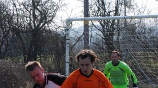 Stoke Hammond 6 - 1 Buckingham United, March 25th 2012. Photos jointly credited to John Hinson.