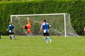 Dickens wins it for United with his emphatic headed goal