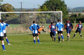 MK's penalty brings it back to 1-1