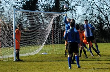 In the second half the pressure on the Punjab goal mounted and Ayris scored twice from Pete Taylor corners.