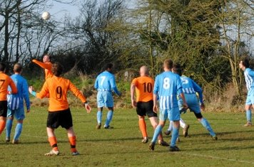 United peppered the OU goal but to no avail.