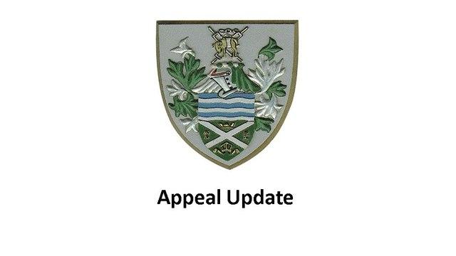 Appeal Update