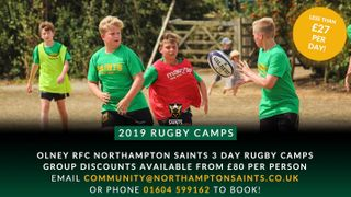 Summer Rugby Camps at Olney RFC