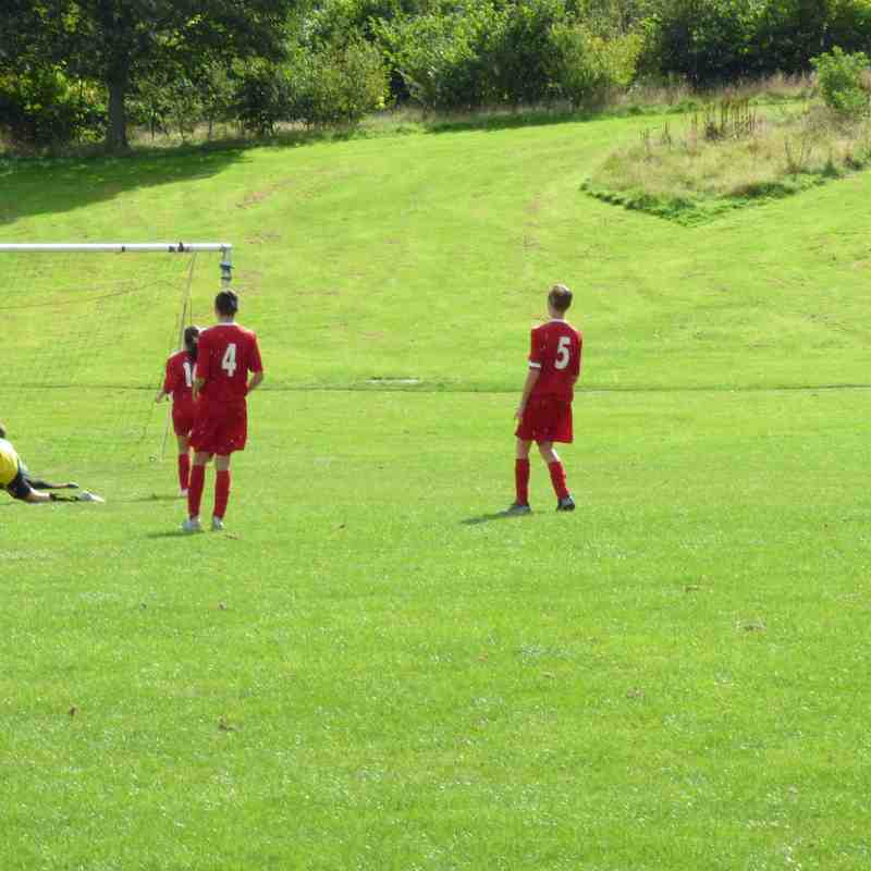 U15's v Deveronvale Reds Sunday 1st September 2019