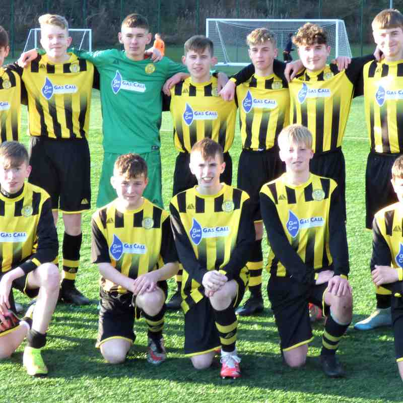 U16's Squad 20/21 season