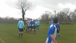 Reserves v Bletchley Wanderers, 9th February 2014