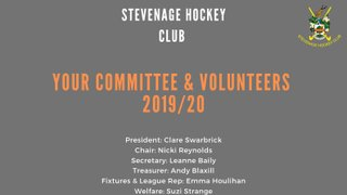Your 2019/2020 Committee and Volunteers