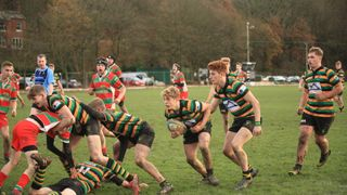 Littleborough Junior Colts V Warrington (Pictures by John Glasgow)