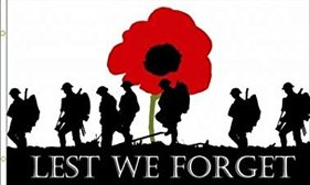 Remembrance Day - This weekend