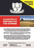 Allington CC win last league game by 7 runs!!