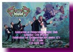Purple Fish at Chippenham RFC - Tour Fundraiser for U12's