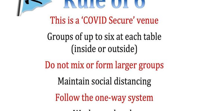 New Guidelines for use of Clubhouse - Rule of Six