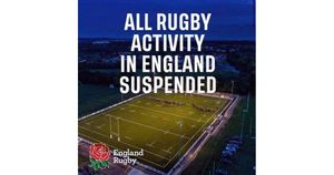 RFU Statement - All Community Rugby Suspended
