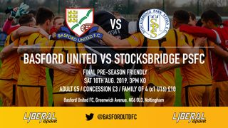 Basford welcome Stocksbridge PS for final preseason friendly