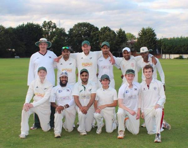 Middlesex 2nd XI Div 1 winners 2014