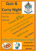 Quiz & Curry Night - 15 February