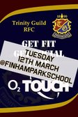 O2 Touch begins at Trinity Guild RFC!