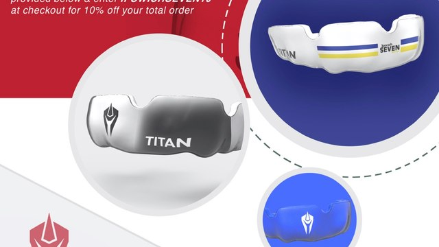 Get your Titan club mouthguard today!