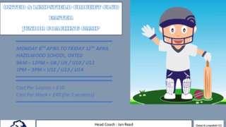 Easter Junior Coaching Camp 2019