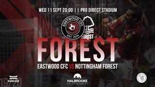 Eastwood CFC Vs Nottingham Forest