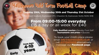 Upcoming Events at Eastwood CFC and The Venue at Eastwood