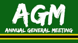 Annual General Meeting - AGM