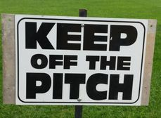 ALL PITCHES ARE CLOSED