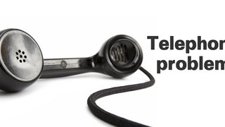 We are currently experiencing problems with our phone lines!