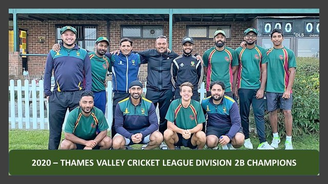 THAMES VALLEY CRICKET LEAGUE - DIVISION 2B CHAMPIONS